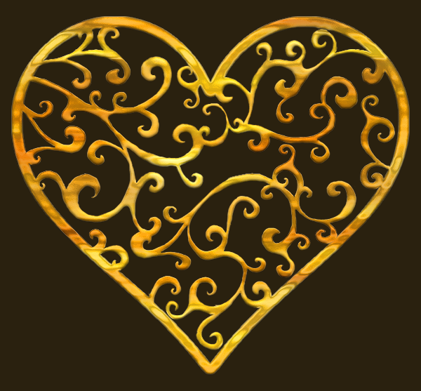 TH Ornate Heart set