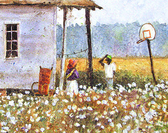 cottonfolk art down in louisiana