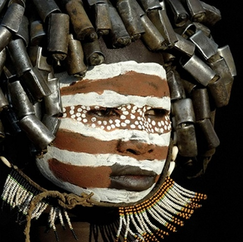 body art artafria ethopia surma