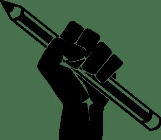 pencil fist